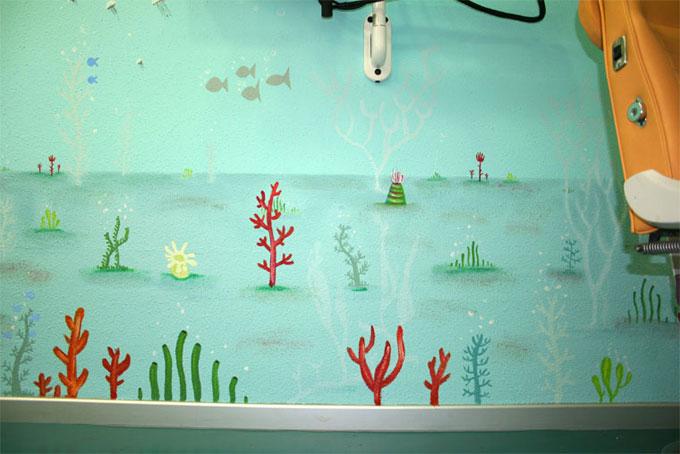 Odonto infantil mural