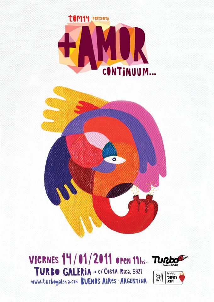 tom14 - +amor - Buenos aires, galeria turbo